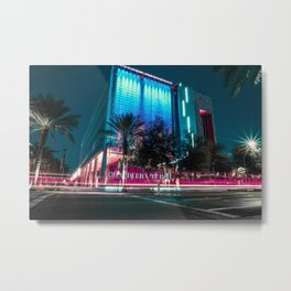 Colorful Nights Metal Print