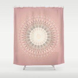 Rose Mandala Shower Curtain