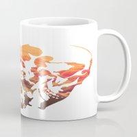 rorschach Mugs featuring Rorschach II by yayanastasia