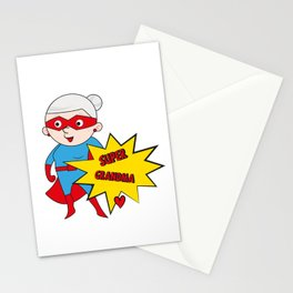 Super Grandma 1 Stationery Cards