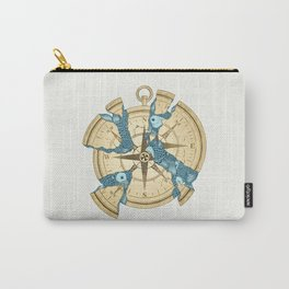 Beneath the Ripples of Existence (There's a Journey Called Life) Carry-All Pouch