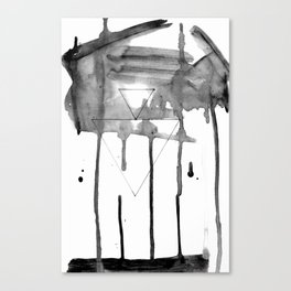 Dissipate - 'Dissolution Series' Canvas Print