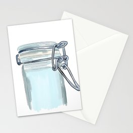 Canister Clasp Stationery Cards