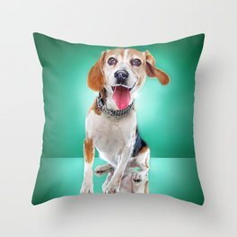 Super Pets Series 1 - Super Buckley 2 Throw Pillow