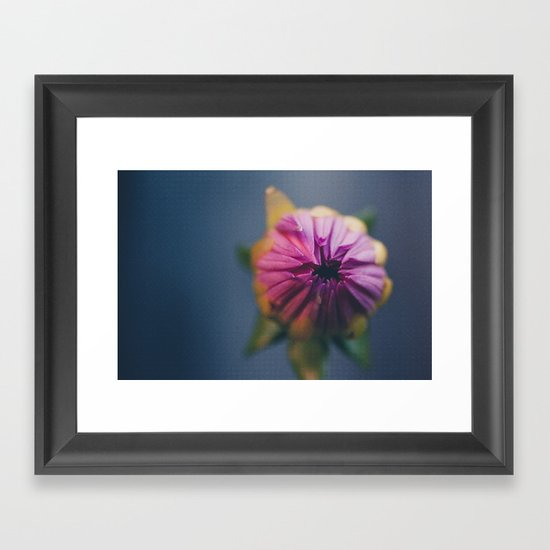 Ready to Bloom, in color Framed Art Print