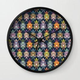 Colorful Cuckoo Clocks Wall Clock