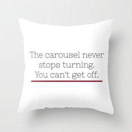 Grey's Anatomy - Ellis Grey Quote. Throw Pillow