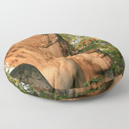 Zen Buddha Sleeping Floor Pillow