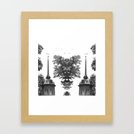 Psychedelic abstract Framed Art Print