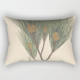 Botanical Pine Rectangular Pillow
