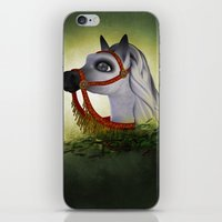 carousel iPhone & iPod Skins featuring Carousel by Texnotropio