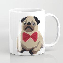 8-bit Pug Coffee Mug