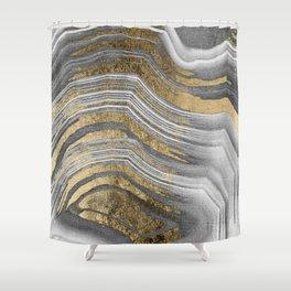 Abstract paint modern Duschvorhang