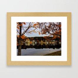 Alton Bay NH Framed Art Print