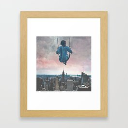 COSMOS SWING Framed Art Print
