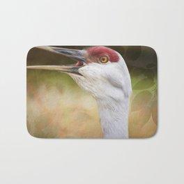 Bird Art - Look Who's Talking Bath Mat