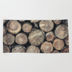 Wood Spirit Beach Towel