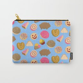 Pan Dulce Blue Carry-All Pouch