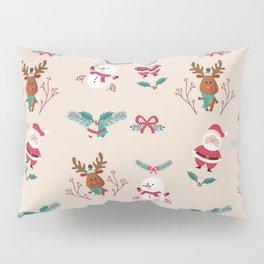 Christmas Puppets Pillow Sham