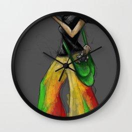 Kittie Launcher Wall Clock