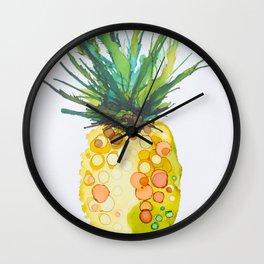 Pineapple Daiquiri Wall Clock