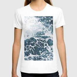 Marble ocean T-shirt