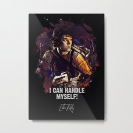 I Can Handle Myself! Metal Print