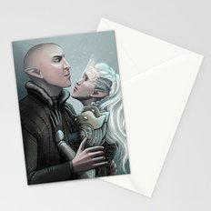 Dragon Age - Solas and Inqusitor Stationery Cards