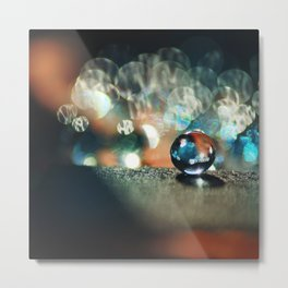 Burning pearl. Metal Print