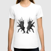 antlers T-shirts featuring Antlers by KesuOriesok