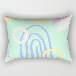 Land Of Smiles Rectangular Pillow