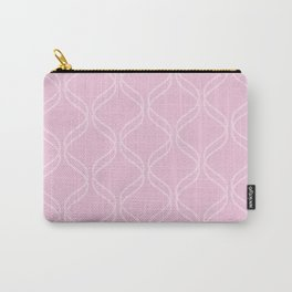 Double Helix - Light Pinks #303 Carry-All Pouch