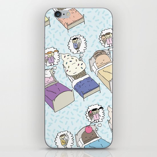 Ice Cream Dream iPhone & iPod Skin