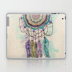Modern tribal hand paint dreamcatcher mandala design Laptop & iPad Skin