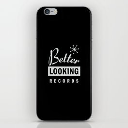 Better Looking Records iPhone Skin