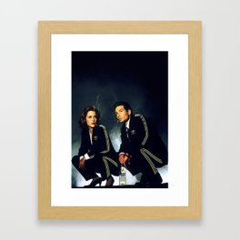 The Slav files Framed Art Print