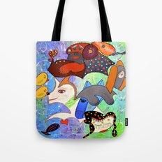 SERENE BARKS Tote Bag