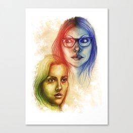 Alex Vause & Piper Chapman Canvas Print