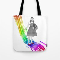 Somewhere over the rainbow Tote Bag