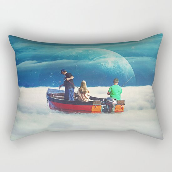 In The Same Boat Rectangular Pillow