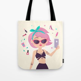 Let me take a selfie ! Tote Bag