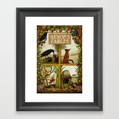 Aesop's Fables Framed Art Print