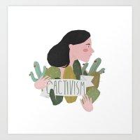 Cactivism Art Print