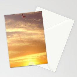 one bird  Stationery Cards