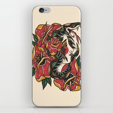 Woman with Snake iPhone & iPod Skin