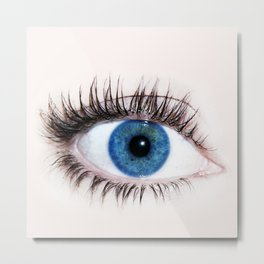 eye wide open Metal Print