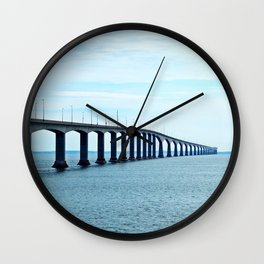 Under the Bridge and Beyond Wall Clock