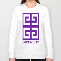 givenchy Long Sleeve T-shirts featuring Givenchy  by I Love Decor