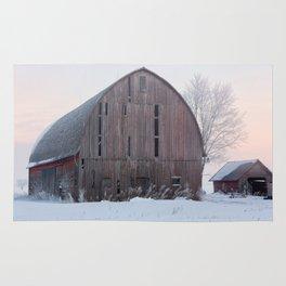 Soft Sunrise on a Winter's Morning Rug