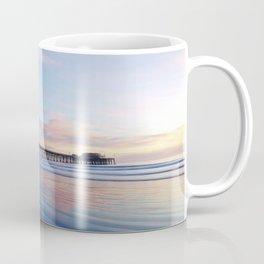 Dory Sunset Newport Beach Pier Coffee Mug
